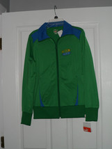 Puma Jacket Soccer Ladies Size S Green Blue Brasil Nwt - $22.99