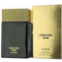 Tom Ford Noir Extreme By Tom Ford 3.4 Oz Eau De Parfum Spray New In Box For Men - $171.23