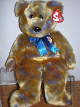 MWMT Rare TY Beanie Buddy Clubby III Bear Retired New - $9.46