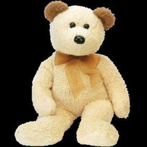 TY Beanie Buddy Huggy Bear Retired New MWMT Collectors Quality Retired Rare - $9.46