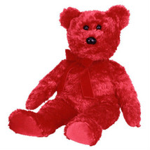 MWMT Rare TY Beanie Buddy Sizzle Bear Retired New - $9.46
