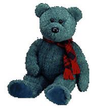 MWMT Rare TY Beanie Buddy Wallace Bear Retired New - $9.46