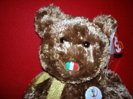 TY BEANIE BUDDY ITALY CHAMPION FIFA WORLD CUP RARE MWMT COLLECTORS QUALITY - $9.46