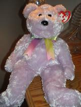 Sherbet  New MWMT Rare TY Beanie Buddy Bear Collectors Quality Beautiful... - $9.46