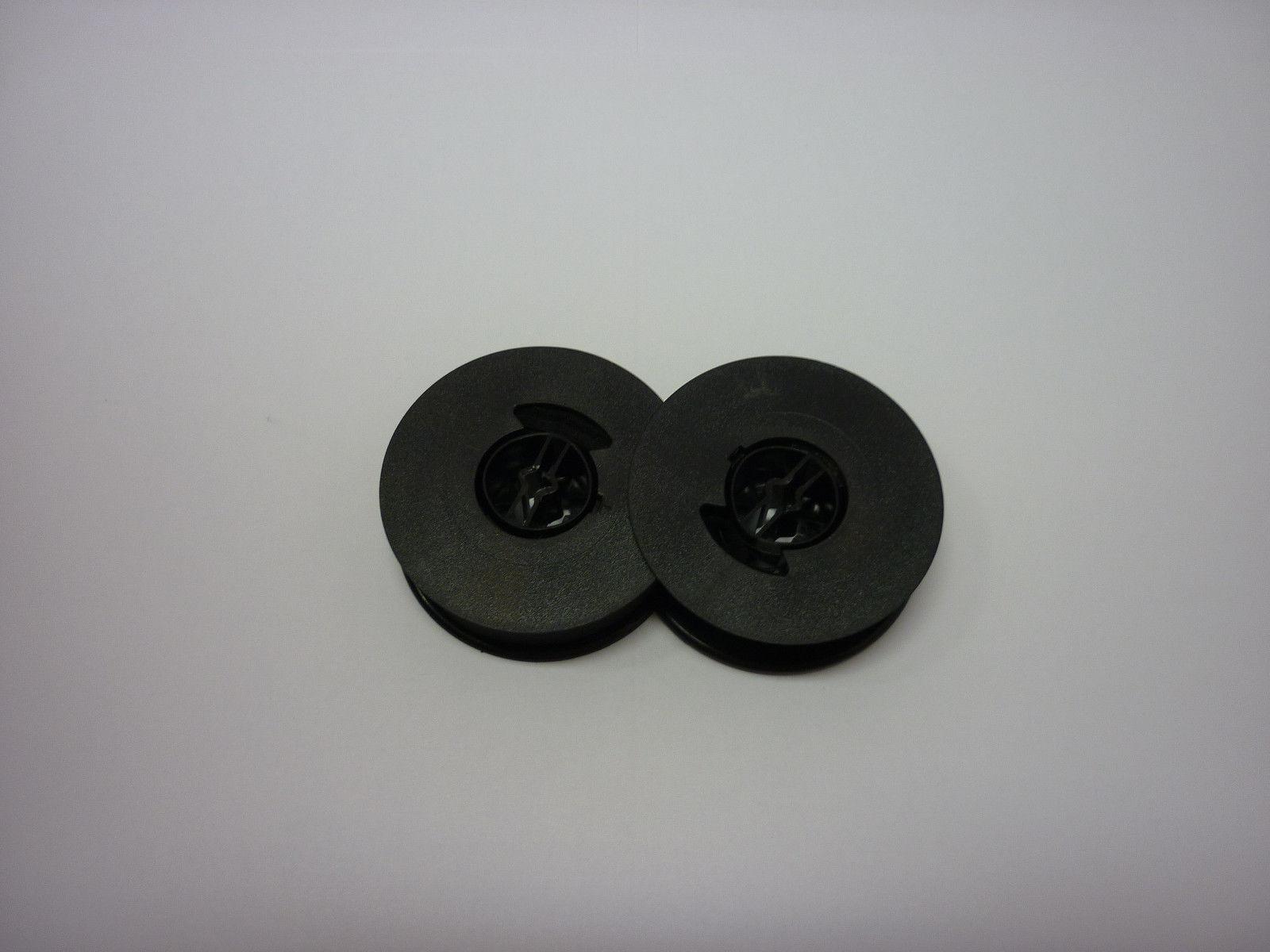 Olympia Traveller De-luxe Typewriter Ribbon Twin Spool Black