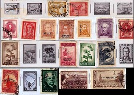 Stamps-17 Argentina Stamps 1967-1971 Look At Pics To See Quality And Des... - $29.21