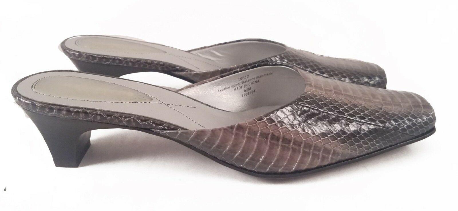 Ladies Liz Claiborne Faux Snakeskin Sandals Size 6.5 M - $18.50