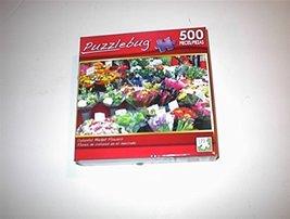 Puzzlebug 500 Piece Puzzle - COLORFUL MARKET FLOWERS [Toy] - $14.54
