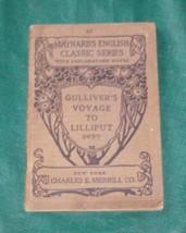 Gulliver's Voyage to Lilliput by Dean Swift 1886 PB - $7.00