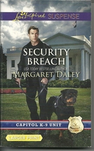 Margaret Daley - Security Breach(Capitol K-9 Unit)Suspense Large Print P... - $2.25