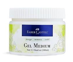 Faber Castell FBR770303 Gel Medium Jar 3.3oz - $17.32