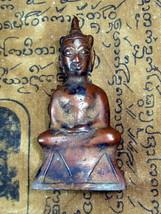 Very Rare! Holy Phra Chai Lor Ayuttaya Top Best Buddha Amulets Last One Left - $24.99