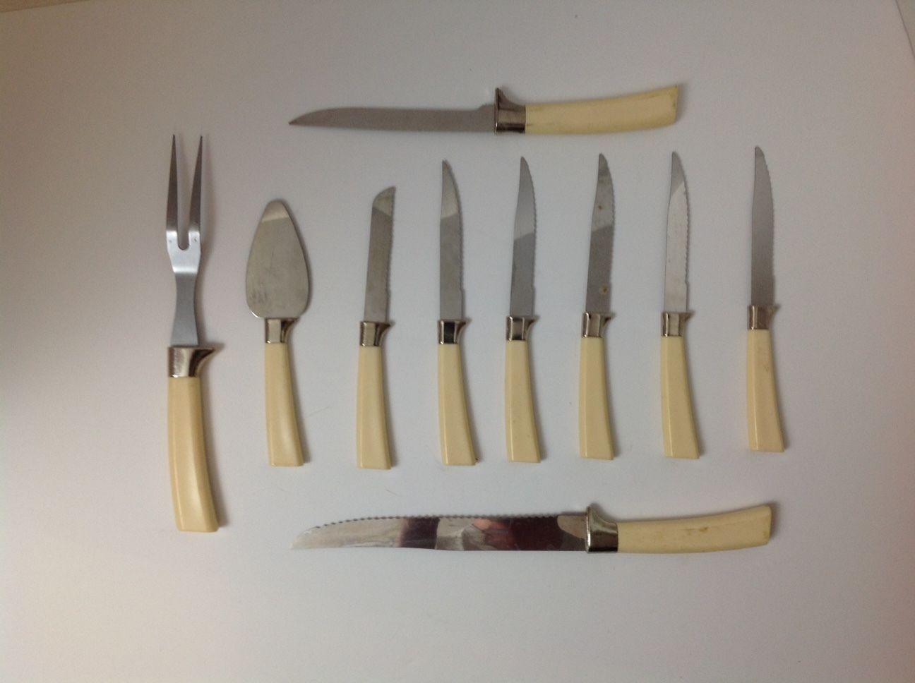 vintage regent sheffield laser steak knives and 18 similar items