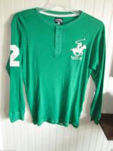 Boys Shirt Size  L 16/18 Green  Beverly Hills Polo Club - $12.99