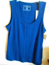 NAUTICA KNIT TOP SIZE S  NAVY BLUE  NWT - $11.99
