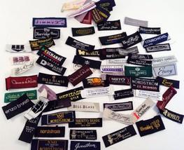 Collection of Mens Necktie Designer Labels Crafting Sewing Nordstrom Far... - $23.36