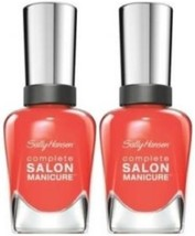 Sally Hansen Complete Salon Manicure #826 CARNIVALE (PACK OF 2) Plus a Free N... - $19.99