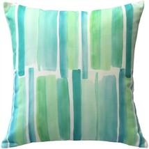 Pillow Decor - Beach Glass Blue Throw Pillow 20x20 (SK1-0009-01-20) - $965,50 MXN