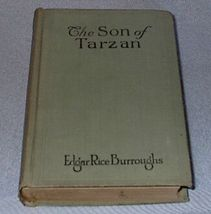 The Son of Tarzan Edgar Rice Burroughs 1917 A.L. Burt Book - $19.95