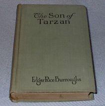 The Son of Tarzan Edgar Rice Burroughs 1917 A.L. Burt Book - $19.95