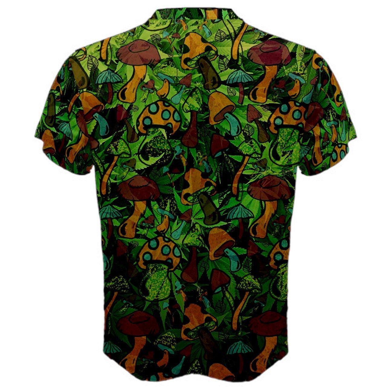 Mushroom Psychedelic Marijuana Ganja Trippy hipie Custom ...
