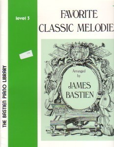 Bastien Piano Library Favorite Classic Melodies Level 3