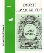 Bastien Piano Library Favorite Classic Melodies Level 3 - $4.45