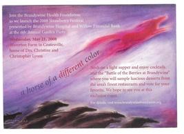 Brandywine Health Foundation Strawberry Festival Modern Advertising Post... - $4.99