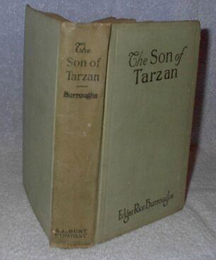 The Son of Tarzan Edgar Rice Burroughs 1917 A.L. Burt Book