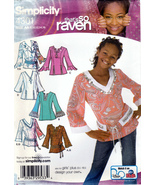 Simplicity 4301 Girls / Girls Plus Sewing Pattern Childrens Shirts Size ... - $6.25