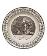 Choisy-le-Roi Creamware Plate Daphnis & Chloe, ... - $175.00