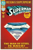 SUPERMAN: THE MAN of STEEL #22 NM! - $1.50