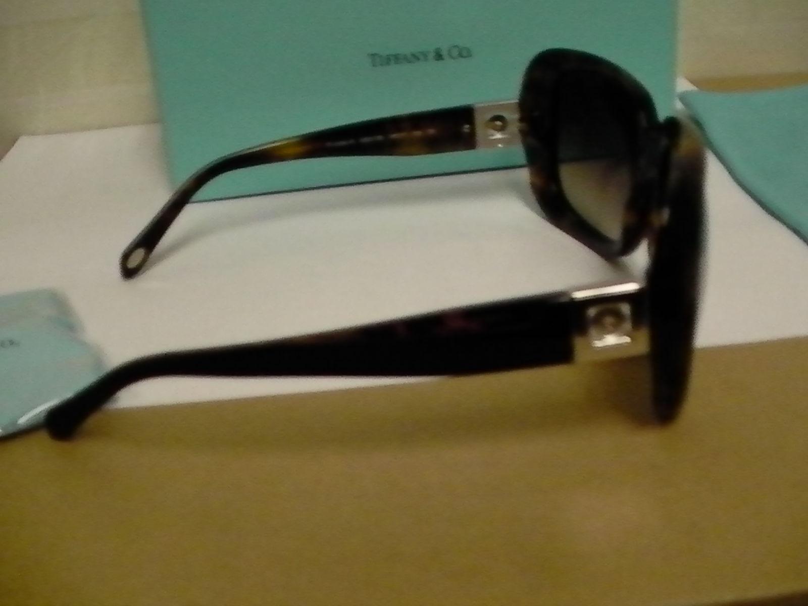 3e155e9ed842 Authentic Tiffany Sunglasses TF 4034-B 8050 3B 59 17 Square Brown Tortoise