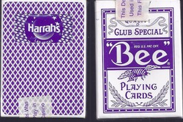 HARRAH'S Casino Las Vegas Playing Cards, vintage design - $5.95