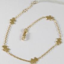 Bracelet en or Jaune 750 18K Avec Chien , Chien Yorkshire, 18.5 CM Longueur image 1