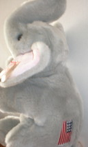 Ty Patriotic Righty Beanie Baby Elephant Buddy Collectors Quality MWMT Rare - $9.95