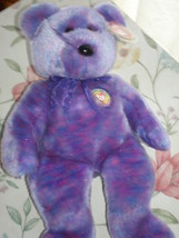 Ty Clubby IV Beanie Baby Buddy Bear Collectors Qual MWMT Rare Only Club ... - $9.95