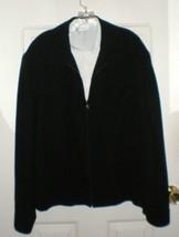NWT Womens Ladies Jacket Blazer Liz Claiborne Black 99.50 Cost Size L Beautiful - $45.00