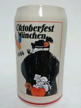 1984 Oktoberfest Munchen Emil Sogor Rastal Tankard Stein Mug Germany - $39.59