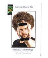 Win an iPhone Modern Advertising Postcard Visual Technology Digital Phot... - $4.99