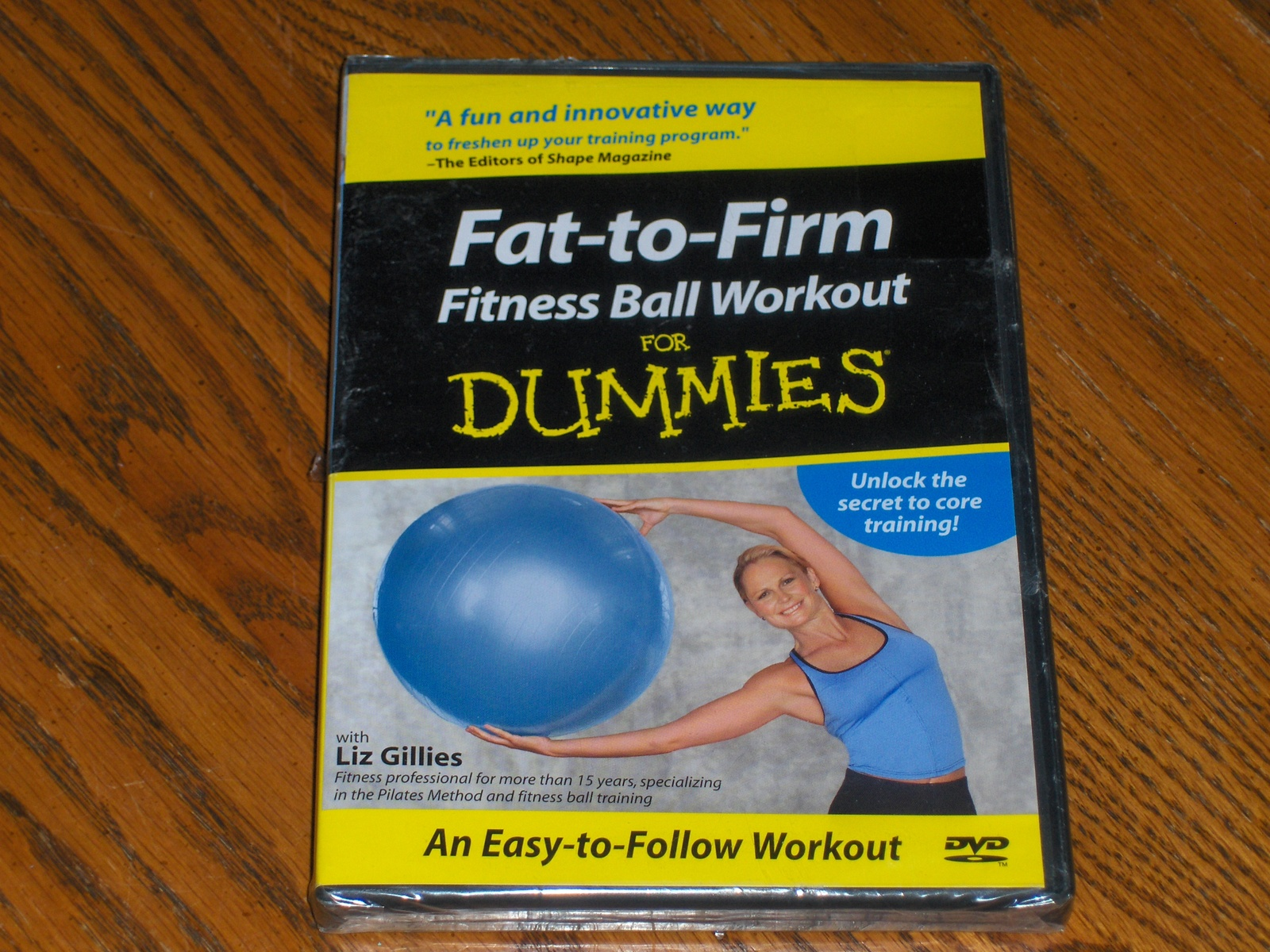 Fat To Firm Fitness Ball Workout For Dummies 17