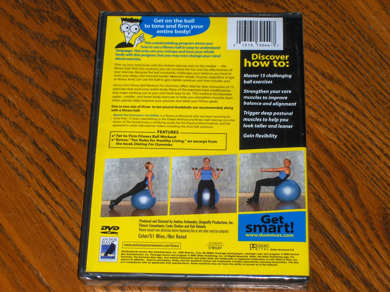 Fat To Firm Fitness Ball Workout For Dummies 7