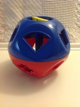 Vintage Tupperware Toys Shape-O-Ball Sorter Replacement Ball Only - $11.00
