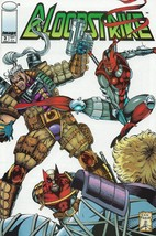 Bloodstrike Issue #2 Rob Liefeld Dan Fraga Image Comics VF-NM - 1993 - $4.50