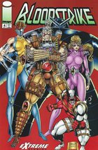 Bloodstrike Issue #4 Rob Liefeld Keith Giffen Image Comics NM - 1993 - $3.50