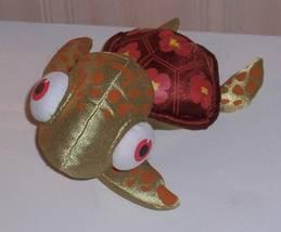 Disney Pixar Finding Nemo Bright Shiny Soft Design Shell Sea Turtle Squi... - $7.99