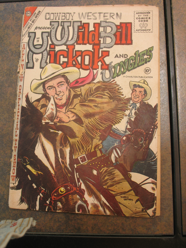 Primary image for Wild Bill Hickock And Jingles Comic #59  (April1956) In Worn Condition