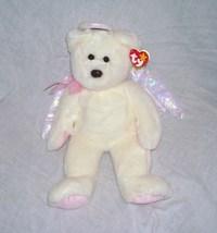 Ty HALO Angel Bear Beanie Buddy NEW WITH TAG! 1999 - $14.96