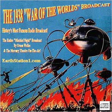 War Of The Worlds Radio CD Complete 1938 Orson Welles Broadcast