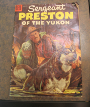 Hard-To-Find 1955 Sergeant Preston Of The Yukon Vol 1 No. 16 Comic Book - $6.99